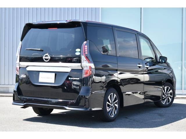 ハイウェイスターG 登録済未使用車 セーフティパックB 後席エアコン プロパイロット 両側オート LEDヘッド アラビュー エマブレ コーナーセンサー 踏み間違い プレミアムインテリア スマートルームミラー インテリキー(4枚目)