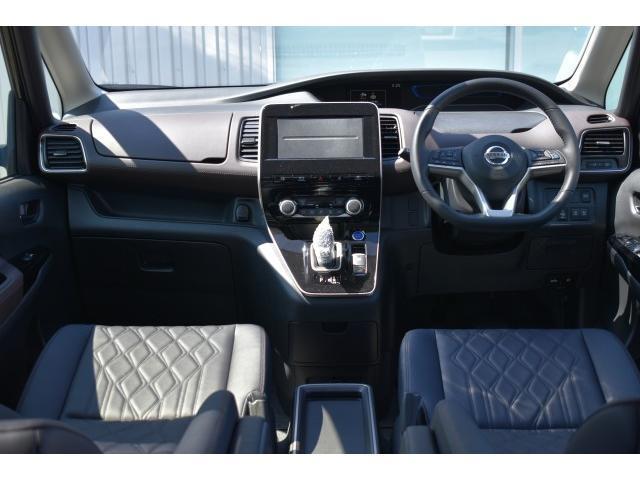 ハイウェイスターG 登録済未使用車 セーフティパックB 後席エアコン プロパイロット 両側オート LEDヘッド アラビュー エマブレ コーナーセンサー 踏み間違い プレミアムインテリア スマートルームミラー インテリキー(5枚目)