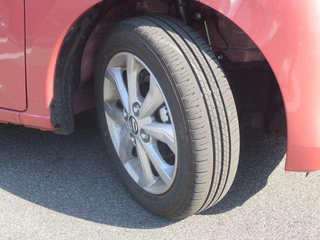 タイヤの溝もまだまだいけます◎