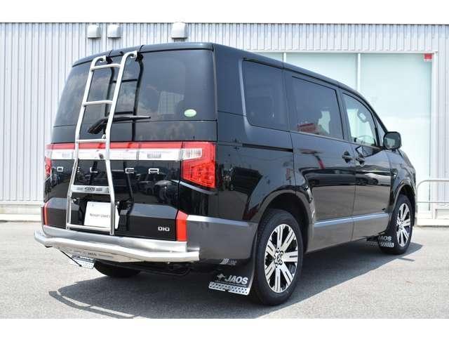 G パワーパッケージ JAOSスキッドバー&マッドガード 登録済未使用車 アラウンドビュー クルーズコントロール 両側パワースライドドア オートホールド シートヒーター パワーバックドア LEDヘッド 電動サイドステップ(4枚目)