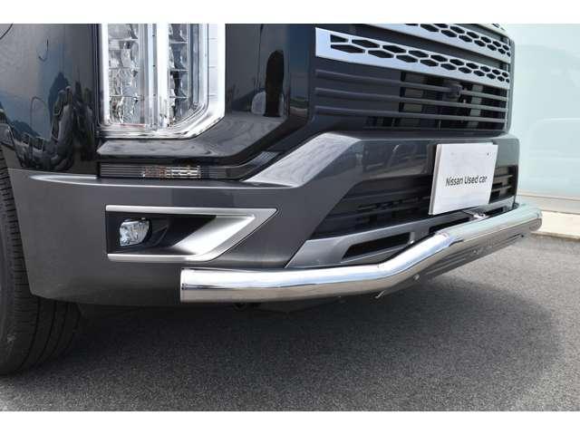 G パワーパッケージ JAOSスキッドバー&マッドガード 登録済未使用車 アラウンドビュー クルーズコントロール 両側パワースライドドア オートホールド シートヒーター パワーバックドア LEDヘッド 電動サイドステップ(8枚目)