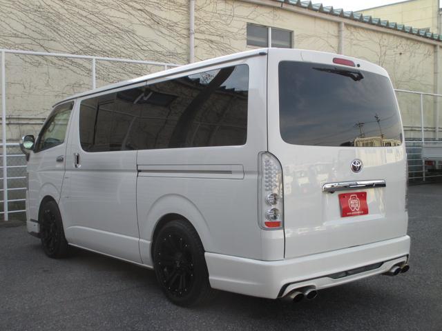 トヨタ ハイエースバン DXGLパッケージ SiLKBLazeエアロ・マフラー