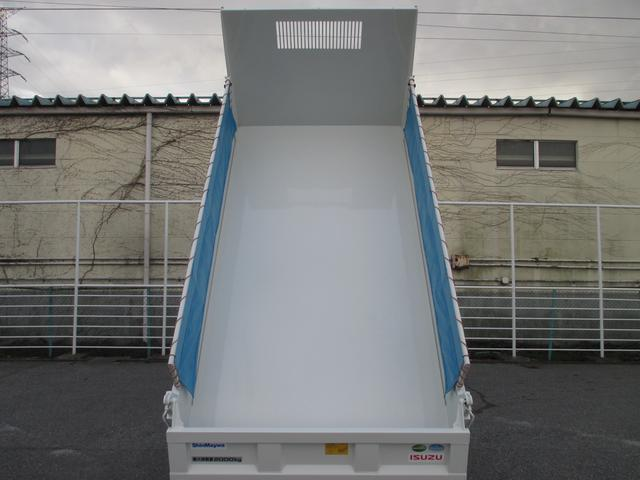 いすゞ エルフトラック 4WD 2トン積み フルフラットローダンプ コボレーン