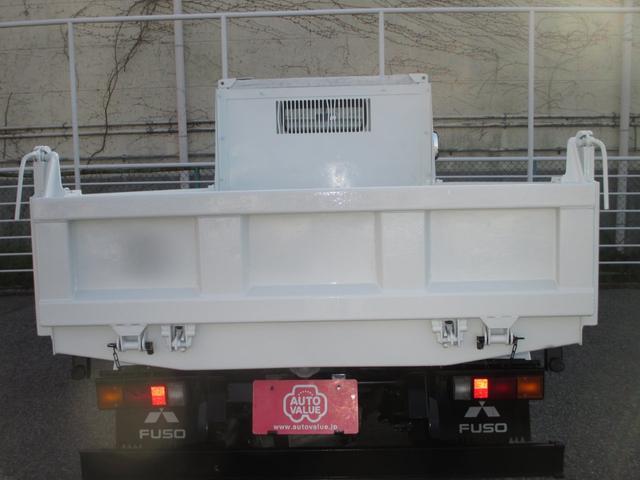 三菱ふそう キャンター 3000kg積み4ナンバー 高床強化ダンプ