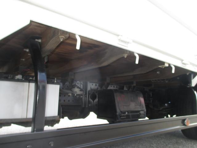 いすゞ エルフトラック 2トン積み フルフラットローPG付平ボデイ ワイドロング