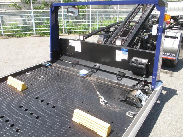 積載車 2900kg積み極東フラトップZERO ハイグレード(9枚目)