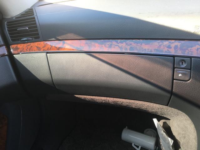 メルセデス・ベンツ M・ベンツ S500L 黒革 サンルーフ ナビ エアロ ETC