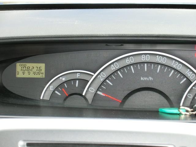 大きく見やすい走行パネルです♪走行距離は108,276キロです。