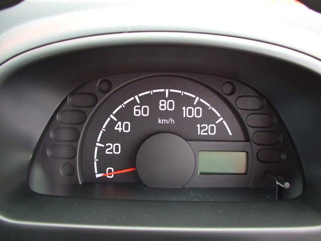 メーターはシンプルなメーターで見やすく反射を抑えてくれますので運転中も安心です♪♪