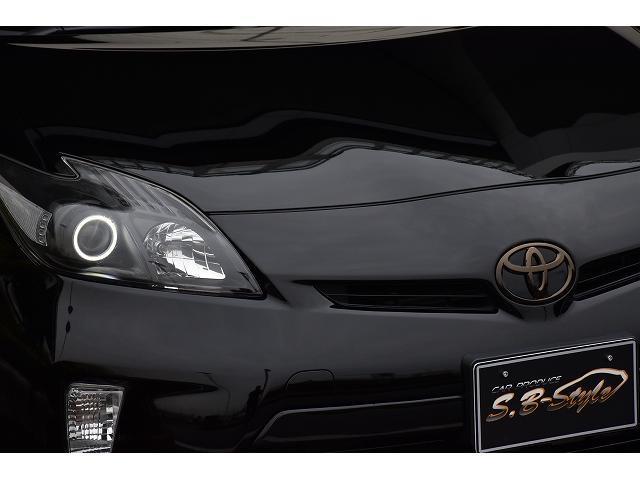 トヨタ プリウス 全国安心保証付き 新品パーツフルカスタム イカリング2灯