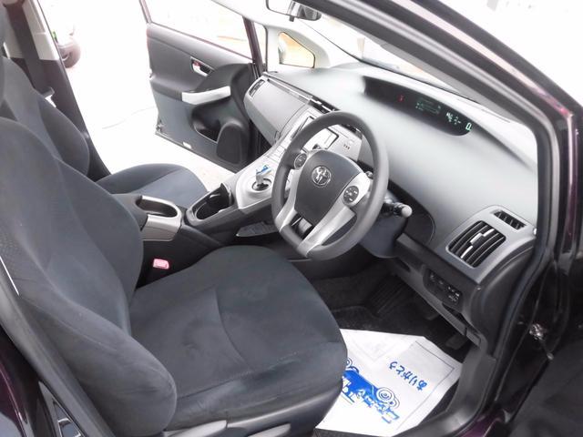 トヨタ プリウス Sツーリングセレクション 純正SDナビ LED ローダウン