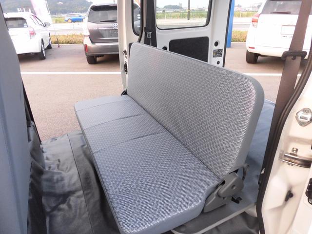 届出済未使用車 純正ラジオ 荷室ランプ 水平格納式リアシート(14枚目)
