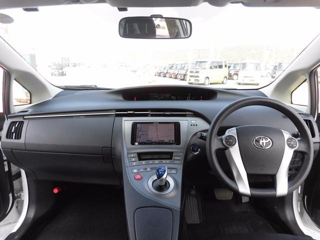 トヨタ プリウス S 社外ナビ ブルートゥース接続可 オートライト ETC
