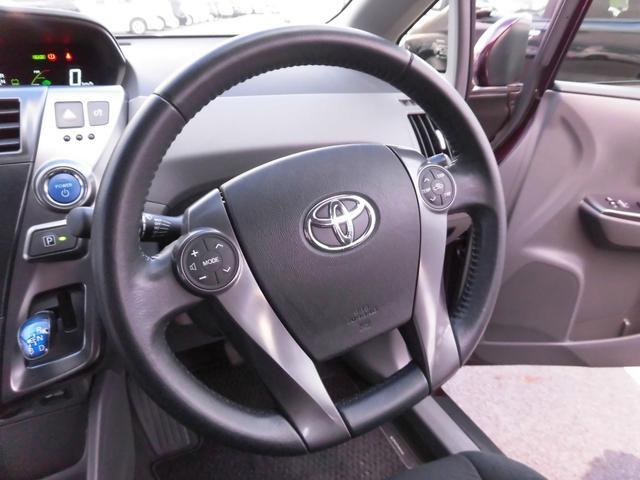 トヨタ プリウスアルファ S チューン ブラック 外品HDDナビ 100Vコンセント