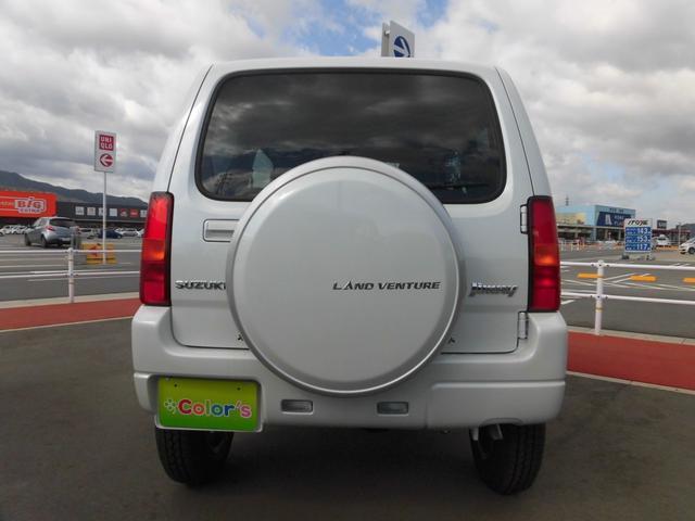 スズキ ジムニー ランドベンチャー 届出済未使用車 前席シートヒータ フォグL