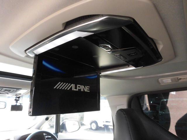2.5S アルパインSDナビ フルセグ バックカメラ リアフリップダウンモニター リアスモークフィルム シートカバー 純正LEDヘッドライト 両側パワースライドドア 社外品ドライブレコーダー HDMI BT(30枚目)