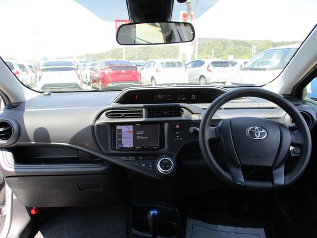 L トヨタセーフティーセンス オートハイビーム 社外ナビ ETC車載器 オートエアコン(14枚目)