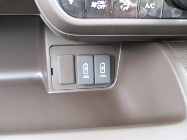 L 純正バックカメラ パーキングセンサー 片側電動スライドドア 充電用SUB端子(22枚目)
