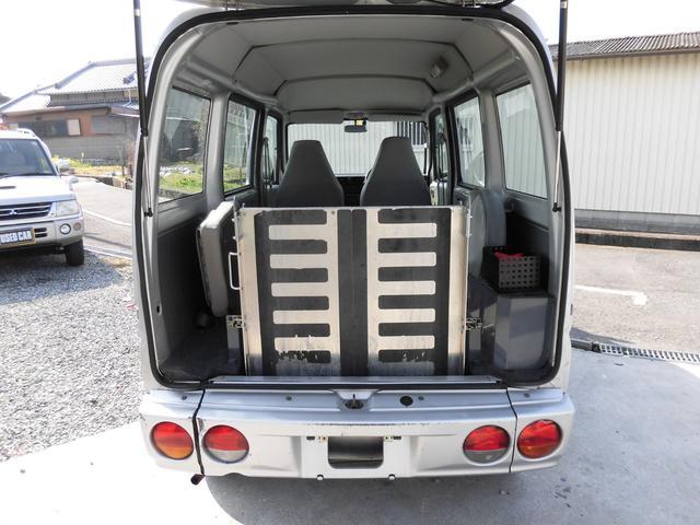 三菱 ミニキャブバン 福祉車 車椅子移動車 スローパー