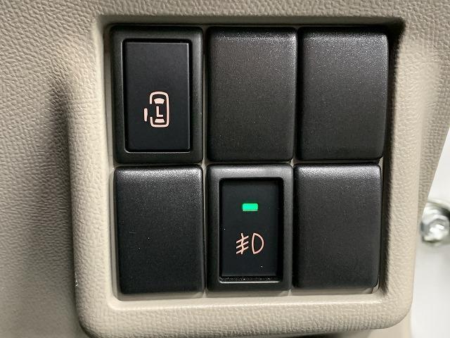 XS 片側電動スライドドア 純正アルミホイール スマートキー プッシュスタート  HIDヘッドライト フォグランプ オートエアコン 電動格納式ミラー  サイドバイザー   ベンチシート  ABS 軽自動車(18枚目)