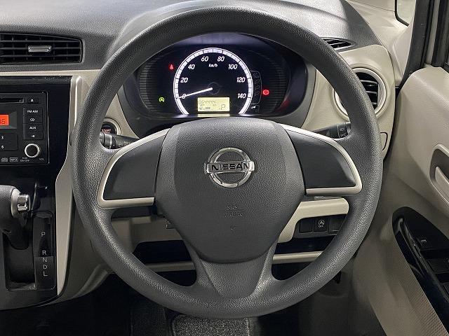 X 純正オーディオ CD キーレス オートエアコン 電動格納式ミラー サイドバイザー フロアマット 純正ホイルキャップ  ベンチシート アイドリングストップ Wエアバッグ ABS 軽自動車(15枚目)