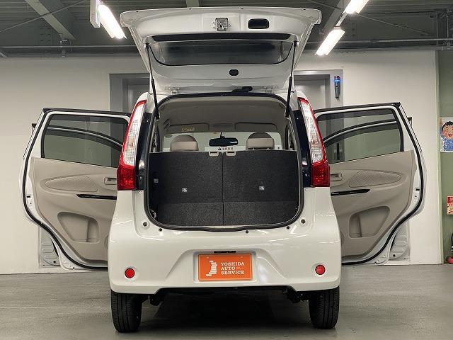 X 純正オーディオ CD キーレス オートエアコン 電動格納式ミラー サイドバイザー フロアマット 純正ホイルキャップ  ベンチシート アイドリングストップ Wエアバッグ ABS 軽自動車(23枚目)