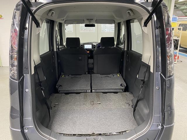 XS 社外ナビ ETC 片側電動スライドドア 純正アルミホイール スマートキー プッシュスタート フォグランプ オートエアコン  電動格納式ミラー フロアマット ベンチシート Wエアバッグ ABS 軽自動車(9枚目)