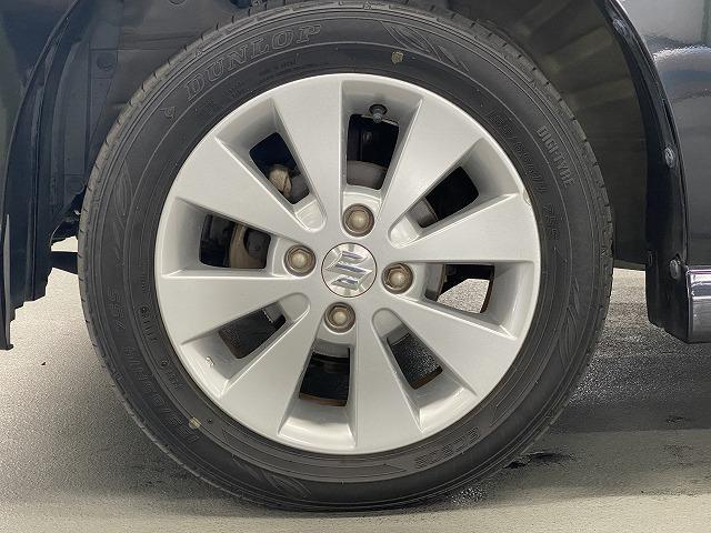 純正アルミホイール スマートキー プッシュスタート  フォグランプ オートエアコン 電動格納式ミラー サイドバイザー フロアマット ベンチシート  Wエアバッグ ABS 軽自動車 社外ナビ(11枚目)