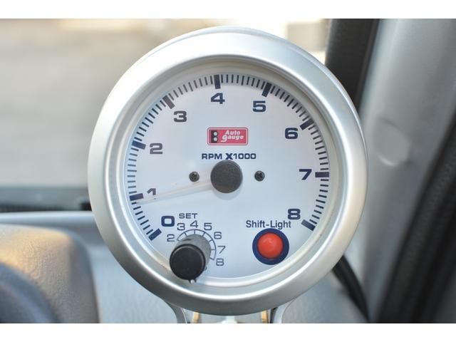 TC スーパーチャージャー 4WD 5速MT タコメーター(17枚目)