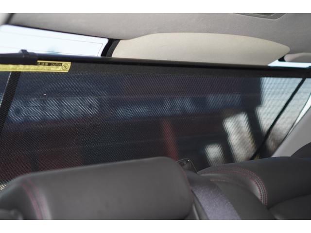 ベースグレード レッドステッチ黒革シート/HDDナビ/フルセグ/バックカメラ/work20インチアルミホイール/TEIN車高調/ETC/ドライブレコーダー/スマートキー/専用エクステリア/木目調コンビハンドル(32枚目)