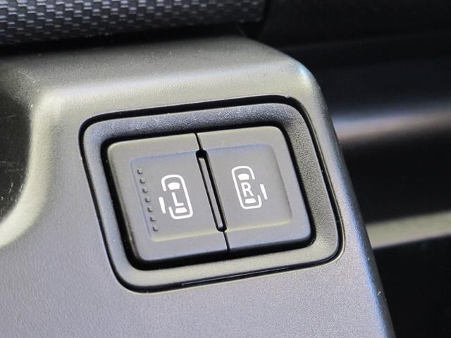 ボタン一つで開け閉めが可能な【両側電動スライドドア】スマートキーでも開け閉めが可能です!
