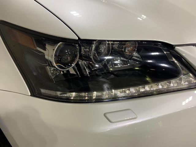 450h/VerL/現行Fスポーツスピンドグリル仕様/三眼LED/BLKレザー/パワーシート/シートヒーター/シートエアコン/ハンドルヒーター/ダブルエアコン/記録簿/純正ナビ/フルセグ(5枚目)