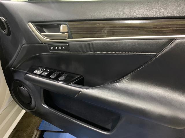 450h/VerL/現行Fスポーツスピンドグリル仕様/三眼LED/BLKレザー/パワーシート/シートヒーター/シートエアコン/ハンドルヒーター/ダブルエアコン/記録簿/純正ナビ/フルセグ(7枚目)