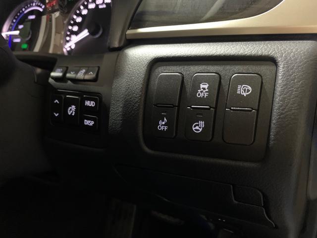 450h/VerL/現行Fスポーツスピンドグリル仕様/三眼LED/BLKレザー/パワーシート/シートヒーター/シートエアコン/ハンドルヒーター/ダブルエアコン/記録簿/純正ナビ/フルセグ(14枚目)
