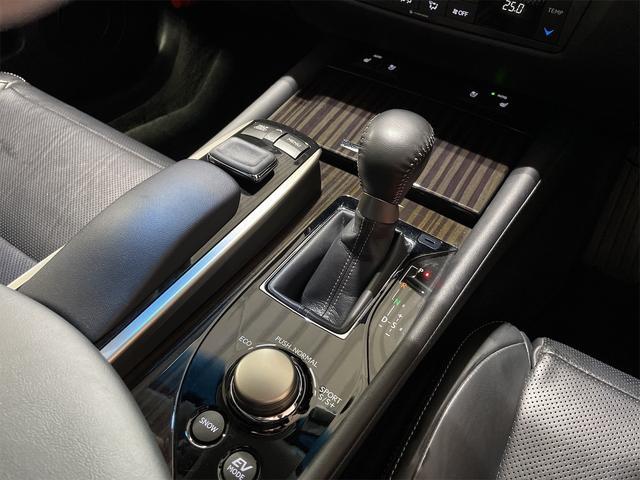 450h/VerL/三眼LED/コーナーセンサー/BLKレザー/ダブルエアコン/パワーシート/シートヒーター/シートエアコン/BSM/電動格納ミラー/アダプティブクルーズコントロール/ブルーレイ再生(28枚目)