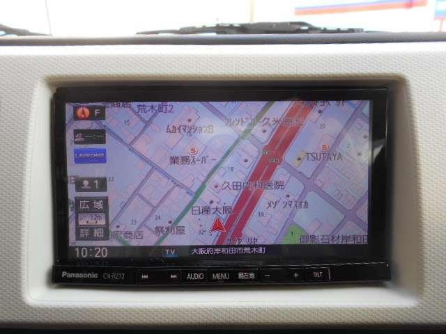 X レーダブレーキサポ スマートキー ナビTV 運転席シートヒータ(4枚目)