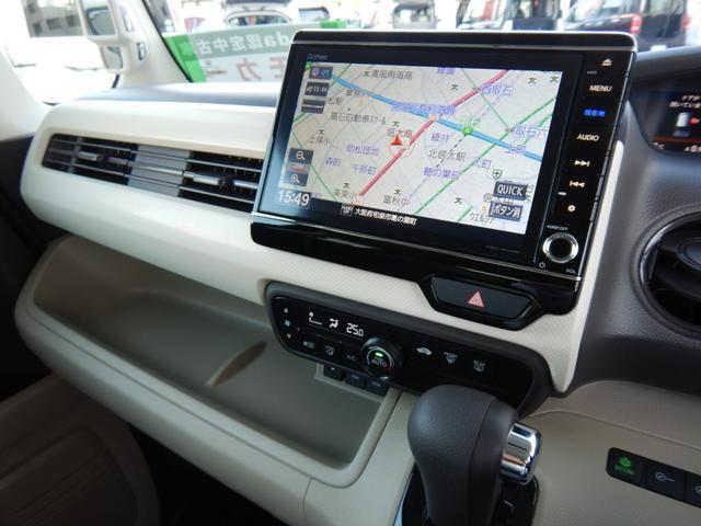 G・Lターボホンダセンシング ・・当社デモカー 8インチナビ・スマホ連携可CD録再対応・ バックカメラ ETC 衝突軽減装置 車線&車間維持オートクルーズ サイド&カーテンエアバック 両側パワースライドドア LEDヘッドライト(50枚目)