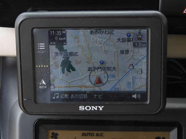 X 走行25,151キロ!!ポータブルナビ リアカメラ CDコンポ スマートキー オートエアコン(3枚目)