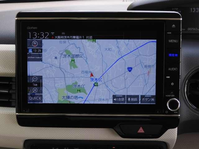 G・Lホンダセンシング デモカー 8インチ大画面ナビ スマホ連携 アップルカープレイ対応ナビ 音楽録音機能 USB Bluetoothオーディオ 両側パワースライドドア サイドエアバック&カーテンエアバック シートヒーター(3枚目)