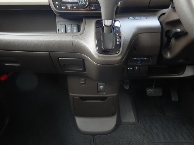 L・ターボ デモカー ナビ 衝突軽減ブレーキ ETC リアカメラ 両側電動スライドドア シートヒーター シートバックテーブル ロールサンシェイド サイド&カーテンエアバッグ 急速充電USB2個 パドルシフト(56枚目)