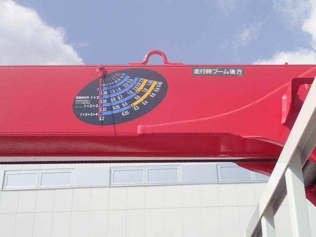 3.4t 4段クレーン 2.93t吊りフックインラジコン付(11枚目)