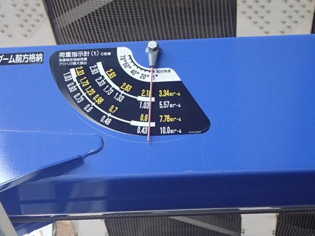増t タダノ製 4段クレーン フックイン ラジコン付(16枚目)