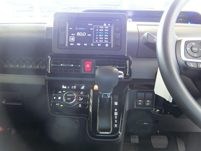 カスタムXセレクション 衝突被害軽減ブレーキ 横滑り防止装置 オートマチックハイビーム アイドリングストップ 両側電動スライドドア ステアリングスイッチ オートライト 純正ディスプレイオーディオ キーフリーシステム LED(31枚目)