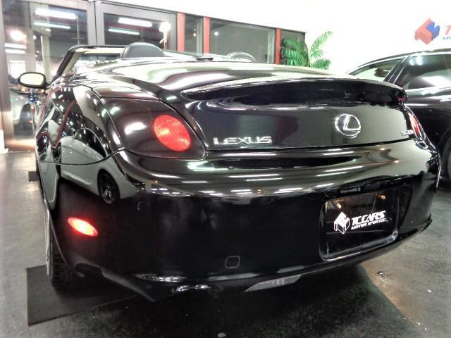 SC430US左ハンドル黒革ナビTV車高調20AWMレビンソ(9枚目)