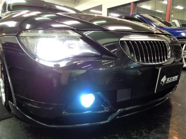 645Ciフルエアロ黒革Iドライブナビ車高調20AWPシート(6枚目)