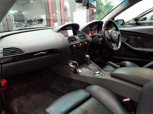 645Ciフルエアロ黒革Iドライブナビ車高調20AWPシート(17枚目)