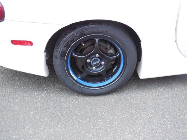 マツダ ロードスター RS6速MT カスタム エアロ マフラー 車高調 革シート