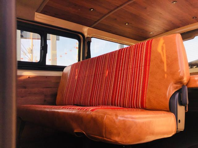 ロングDX ハイエース5ドア20車中泊キャンプスタイル 車中泊キャンプベッドリアクーラーヒータ(5枚目)