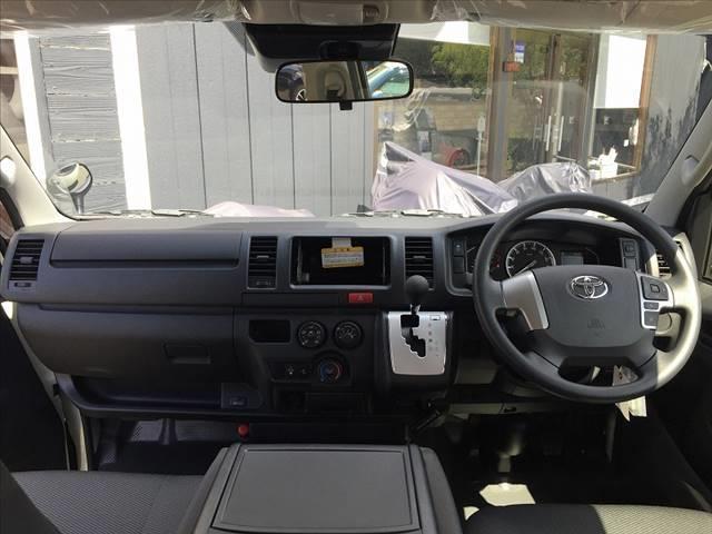 ロングDX ハイエース5ドア20車中泊キャンプスタイル 車中泊キャンプベッドリアクーラーヒータ(14枚目)