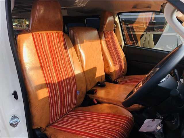 ロングDX ハイエース5ドア20車中泊サーフスタイル 6人乗り サーフスタイルベッドリアクーラーヒーター(4枚目)